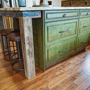 Craftsman \ Rustic masterpiece kitchen in Monrovia