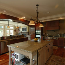 Craftsman Kitchen by Mark Brand Architecture