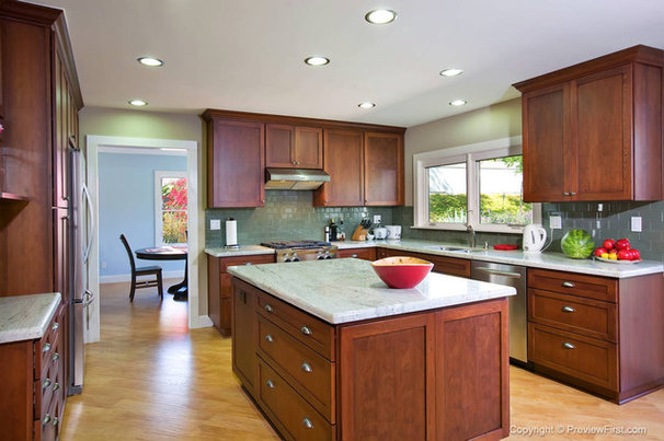 Traditional Kitchen by Remodel Works Bath & Kitchen
