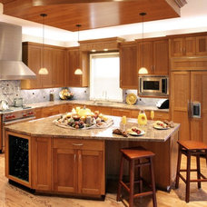 Eclectic Kitchen by Diane Plesset, CMKBD, NCIDQ, C.A.P.S.