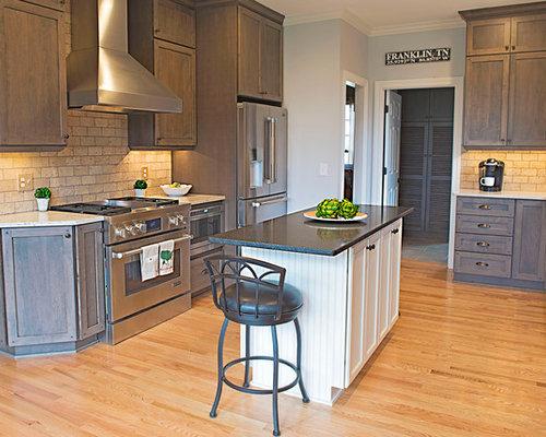 Ideas para cocinas | Fotos de cocinas con puertas de armario con ...