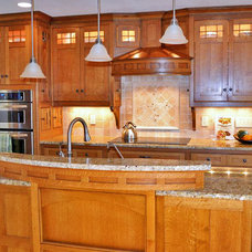 Traditional Kitchen by Kustom Home Design