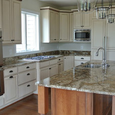 Traditional Kitchen by Mike Garcia Construction