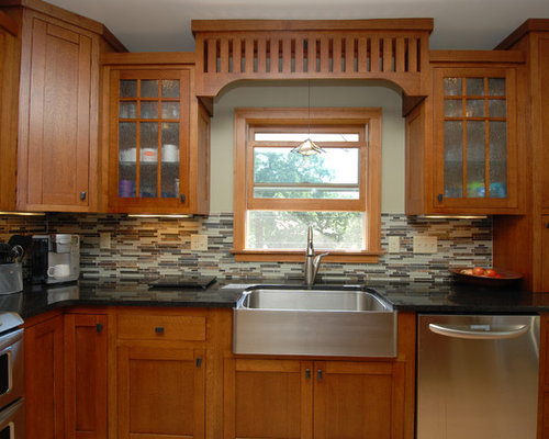 Craftsman Style Kitchens Home Design Ideas, Pictures, Remodel and Decor