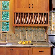 Craftsman Kitchen by Pratt and Larson Ceramics