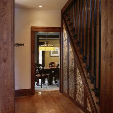 Craftsman Kitchen by Gardner Mohr Architects LLC