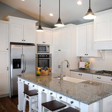 Traditional Kitchen by DreamMaker Bath and Kitchen - Utah