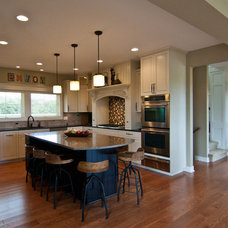 Craftsman Kitchen by Troxel Custom Homes