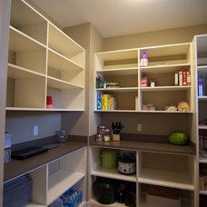 Craftsman Kitchen by Troxel Custom Homes