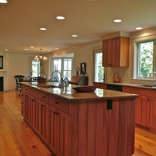 Traditional Kitchen by Joseph B Lanza Design + Building