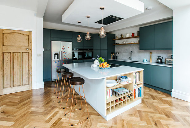 Contemporary Kitchen by The Build Bristol Group