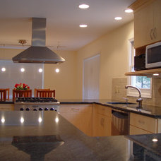 Contemporary Kitchen by Cranbury Design Center LLC