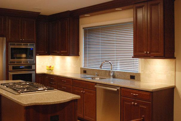 Traditional Kitchen by Cranbury Design Center LLC