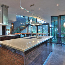 Contemporary Kitchen by Switch Lighting & Design, LLC