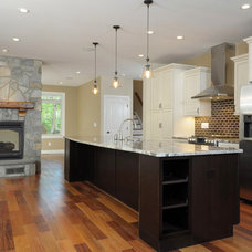 Traditional Kitchen by Big Sky Custom Homes