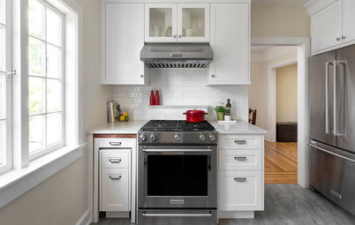 Tuck and Roll: How to Get More Counter Space in Your Kitchen