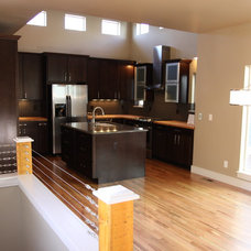 Contemporary Kitchen by Bungalow House Plans