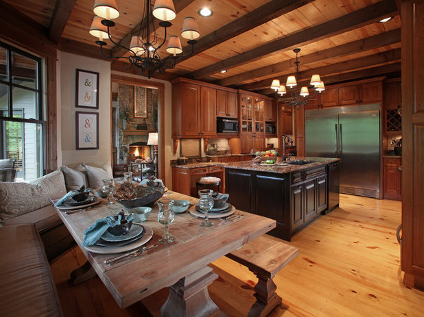 Traditional Kitchen by Modern Rustic Homes