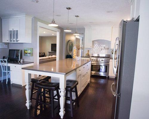 Cream And Grey Kitchen Home Design Ideas, Renovations & Photos