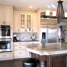Traditional Kitchen by ProCraft Fine Cabinet & Woodwork