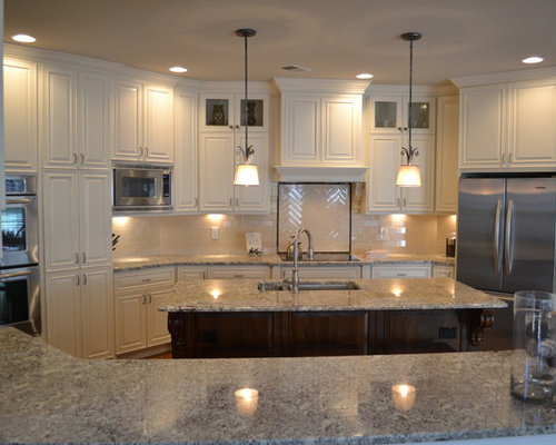 Navajo White Cabinets Home Design Ideas, Pictures, Remodel and Decor