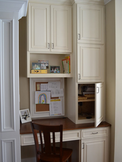 Kitchen Desk Space Ideas, Pictures, Remodel and Decor