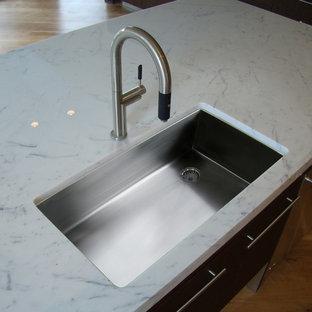 Offset Drain Undermount Kitchen Sink