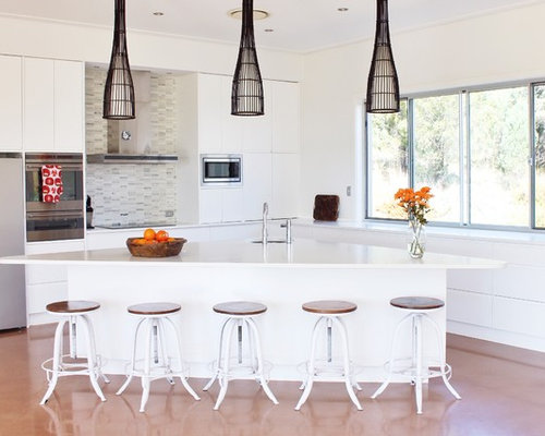 Triangle island home design ideas pictures remodel and decor for Kitchen triangle