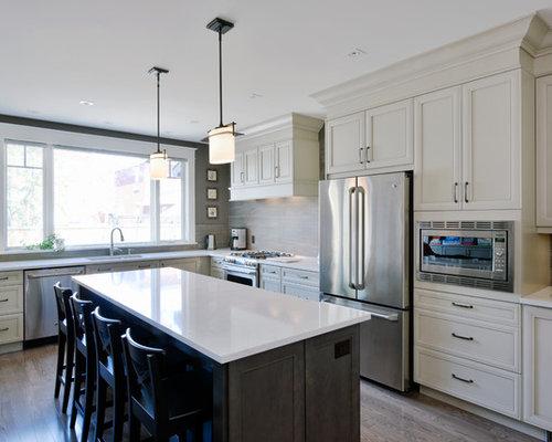 Ottawa kitchen design ideas renovations photos with for Kitchen cabinets ottawa