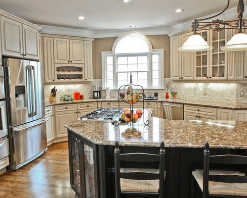 antique white cabinets ideas, pictures, remodel and decor, Kitchen
