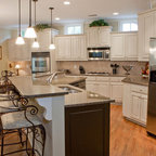 Creative Cabinets and Faux Finishes, LLC - Eclectic - Kitchen - Atlanta - by Creative Cabinets ...