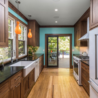 Creative Kitchen and Deck Remodel