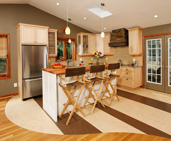 Eclectic Kitchen by Four Brothers LLC