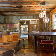 Rustic Kitchen by Charlie Dresen, SteamboatsMyHome