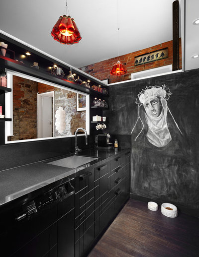 Contemporary Kitchen by Lisa Petrole Photography