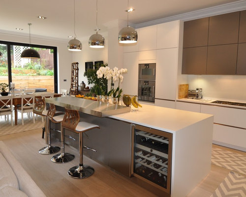 Modern Kitchen In London.