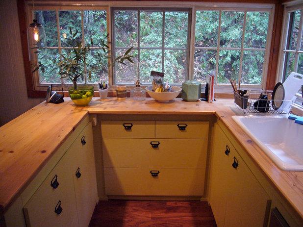 Rustic Kitchen by Amy A. Alper, Architect