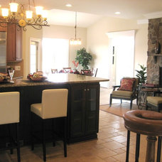 Traditional Kitchen by Leigh Newport Staged by Design®