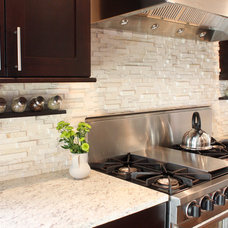 Contemporary Kitchen by aZura Stoneworks