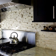 Eclectic Kitchen by aZura Stoneworks