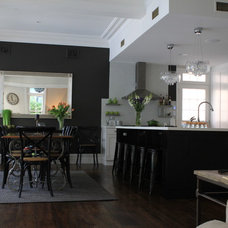 Contemporary Kitchen by Anna Cottee Designs