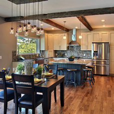 Traditional Kitchen by Grand Bay Building and Remodeling