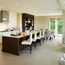 Transitional Kitchen by Kelly Deck Design