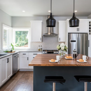 Teal And Gray Kitchen Ideas Photos Houzz