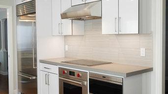 Crestview Glossy White Kitchen