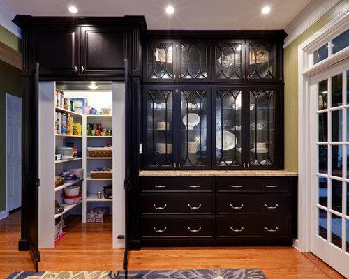Hidden walk in pantry houzz for Hidden pantry