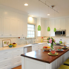 Transitional Kitchen by Ketron Custom Builders