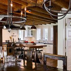 Farmhouse Kitchen by Crisp Architects