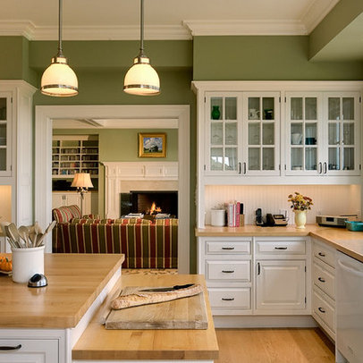 Kitchens With Green Walls