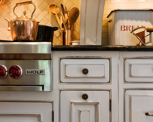 White Distressed Cabinets Ideas Pictures Remodel And Decor